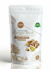 Organic Ginger Root Powder by KRUPACARE 4,8,16 OZ  Bio dynamic produce 100% pure
