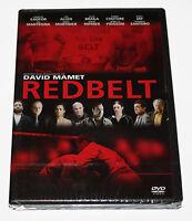 REDBELT -  DVD- NEW  WITH SEALED BOX