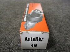 4 New Autolite 46 Spark Plug New pack of 4