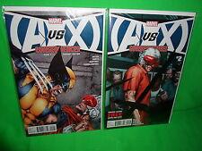 AvX Consequences #2 Regular & Variant Cover Comic Set Avengers X-men Marvel