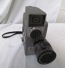REVERE EYE-MATIC SPOOL EIGHT 8mm MOVIE CAMERA, Model CA-7, Wollensak Raptar Lens