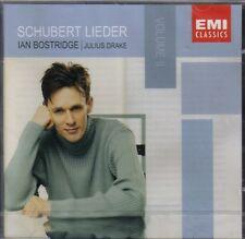 IAN BOSTRIDGE / J DRAKE - SCHUBERT LIEDER VOL 2 CD  NEW / SEALED
