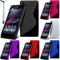 ACCESSOIRES COQUE ETUI HOUSSES TPU S SILICONE GEL S-LINE SONY XPERIA Z1 COMPACT