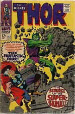 MIGHTY THOR #142 4.5 VG FEATURING SUPER SKRULL!