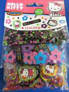 Hello Kitty Tween Sanrio Retro Animal Birthday Party Decoration Confetti 3-Pack