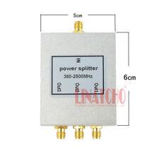 3 way wifi repeater 380-2500MHz micro-strip SMA female antenna power splitter