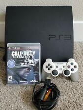 "Sony PS3 Playstation 3 ""Slim"" *250gb* (CECH-2101B) Gaming Console BUNDLE"