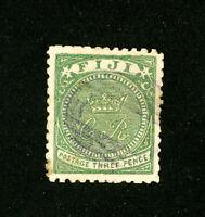 Fiji Stamps # 16 Superb Used Scott Value $400.00