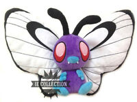 POKEMON BUTTERFREE PELUCHE 30 CM Caterpie bye bye Papilusion viola maschio plush