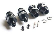 Wheel Axle Hub Extender kit For 1/5 HPI Baja 5B 5T 5SC King Motor Rovan Black