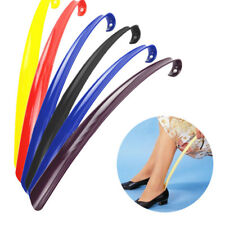 42cm Durable Long Handle Shoehorn Shoe Horn Lifter Disability Aid-Flexible Stick