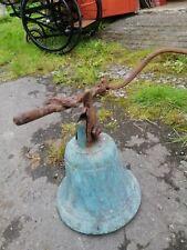 Antique Church Bell. Brass.