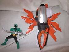POWER RANGERS SUPER SAMURAI DX ARANCIONE Beetle + Figura Verde
