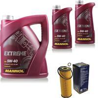 Ölwechsel Set 7L MANNOL Extreme 5W-40 Motoröl + SCT Filter KIT 10199239