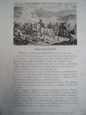BERNADOTTE Maréchal d'Empire, né à Pau le 26 janvier 1764