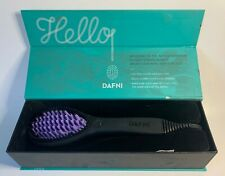 Dafni Special Edition Hair Straightening Ceramic Brush heated large
