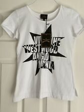 VIVIENNE WESTWOOD ANGLOMANIA T SHIRT SIZE SMALL NEW