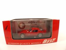 Best Model 9087 • Alfa Romeo TZ2 Prova 1965  • 1/43 boxed /boîte