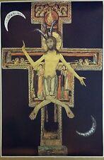 "Baphomet Evil Jesus 36"" x 24"" San Damiano cross Satanic Halloween Atheist Devil"