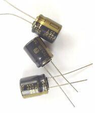 330uf 25v 105c fc low esr taille 12.5mmx10mm panasonic EEUFC 1E331... x3pcs