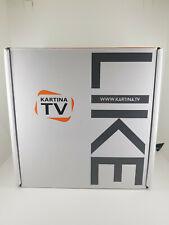 KARTINA TV Dune LIKE russiche IP TV WLAN DVB-T2 HEVC H.265 Receiver FULL HDTV 3D