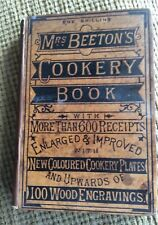 MRS BEETONS COOKERY BOOK RARE COPY, Pre 1891, Good Condition  558th 000 Ed.