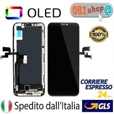 TOUCH SCREEN FRAME VETRO LCD DISPLAY SCHERMO OLED PER APPLE IPHONE X