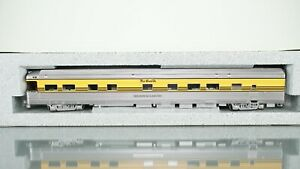 "KATO Corrugated Business Car Denver & Rio Grande ""Wilson McCarthy"" HO scale"
