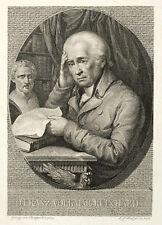FRANZ VOLKMAR REINHARD - BILDNIS - Stölzel - Radierung 1813