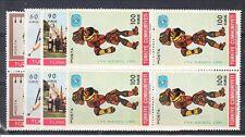 Turkey Scott 1730-1733 Mint NH blocks (Catalog Value $25.00)