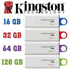 Kingston 16/32/64/128GB USB 3.0 Flash Stick DataTraveler G4 Memory Drive - US