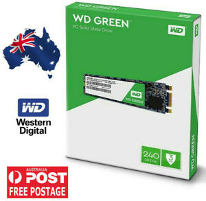 Western Digital240 GB SSD WD Green M.2 2280 540MB/s Read Solid State Drive