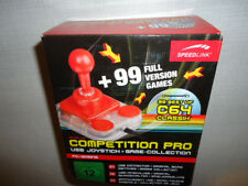 Competition Pro USB Joystick+Game Collection 99 Best of C64 Games NEU!