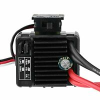 1060 60A Brushed ESC Electronic Speed Controller For RC 1/10 Car Motor Black New