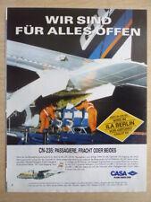 6/1992 PUB CASA CN-235 BINTER ORIGINAL GERMAN AD