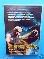 amoresperros amores perros gonzales inarritu emilio echevarria rare dvd used gq