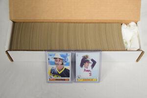 1979 Topps Baseball Complete Set Nolan Ryan Ozzie Smith Rookie AG364
