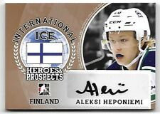 2016-17 Leaf ITG H&P International Ice Aleksi Heponiemi Bronze Auto RC
