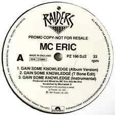 "MC ERIC - Gain Some Knowledge (12"") (Promo) (VG-/M)"