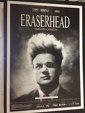 Eraserhead di David Lynch (edizione restaurata 2017) manifesto cm. 100X140