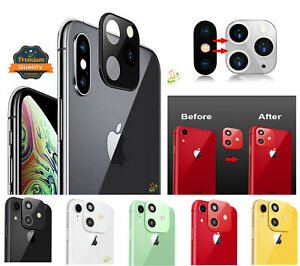 For Apple iPhone X XS Max XR Modified Camera Lens Seconds Change to iPhone 11