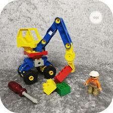 Lego Duplo Toolo >> MOBILER KRAN << drehbar, mit Kranführer, Steine, Werkzeug