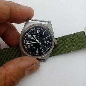 Alte US Army NAVY  Armbanduhren in Vietnamkrieg 1969