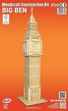 El Big Ben Londres Woodcraft Construcción Kit - 3D De Madera Modelo Puzzle Niños/Adultos