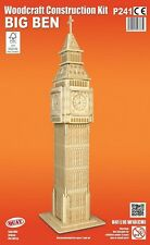 London's Big Ben Woodcraft Construction Kit - 3D Wooden Model Puzzle KIDS/ADULTS