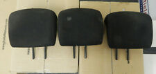 PEUGEOT 206 REAR HEADRESTS BLACK
