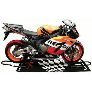 Motorbike Front Head & Rear Motorcycle Bike Paddock Stands Pair Combo Kit