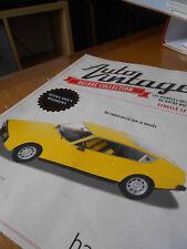 FASCICULE sur La Matra  Simca  Bagheera  '' Auto  Vintage ''  Hachette