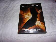 Batman Begins (Dvd, 2005, Widescreen) Christian Bale, Katie Holmes