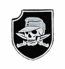 Morale Army Biker Motorcycle Patch Germany WWII WW2 Soldier Cap Skull Knives